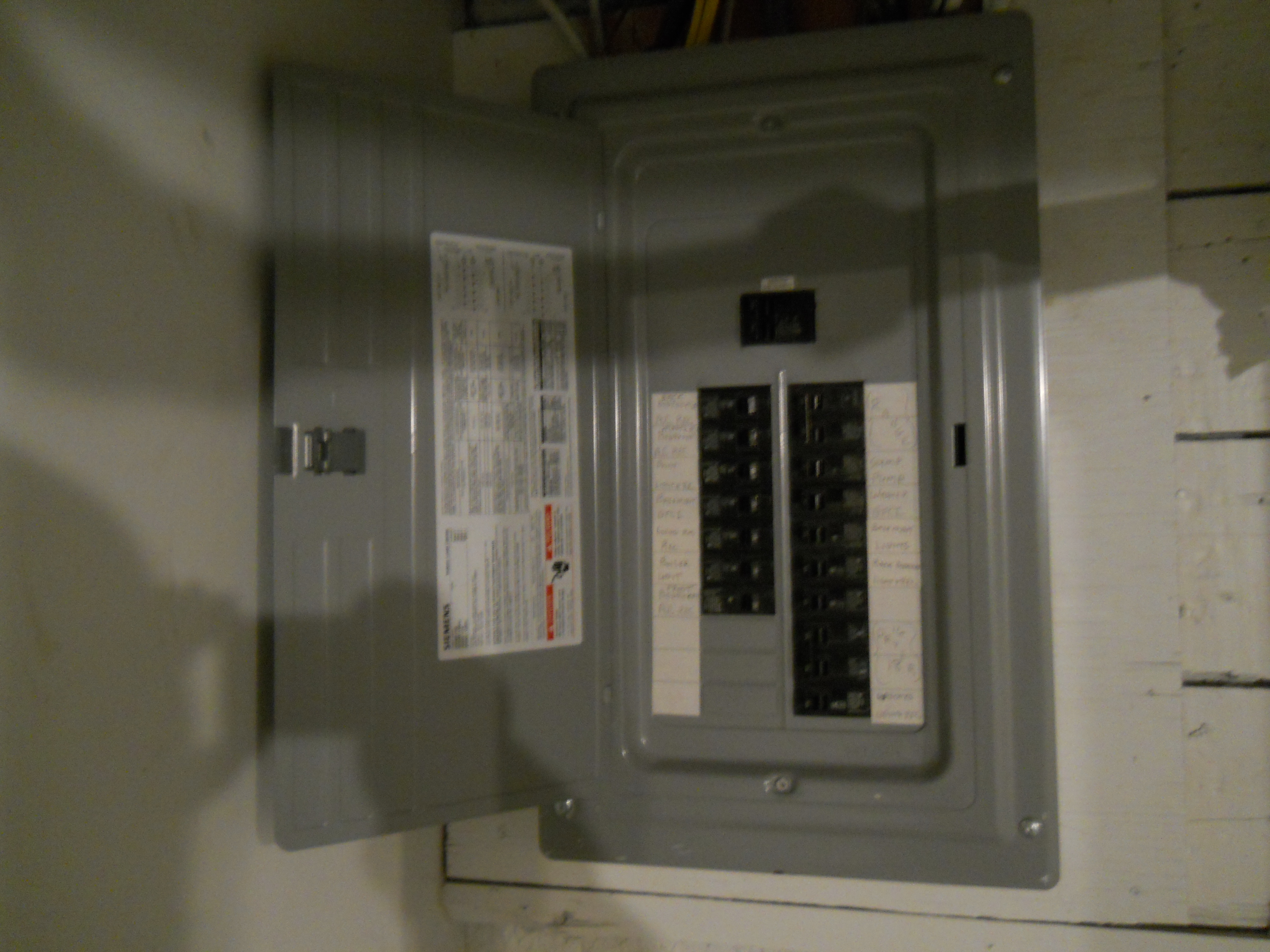 483 Mineola Ave Square Management Electrical Circuit Breaker Panel Box Updated Electric
